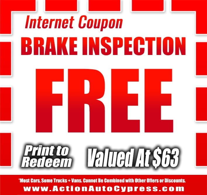 Coupons And Promotions Action Auto Cypress