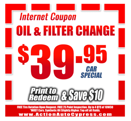 best oil change coupon in cypress, ca